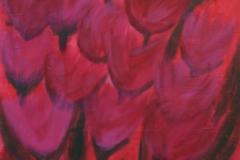 tulpen, 60x80, acryl auf leinwand, preis auf anfrage