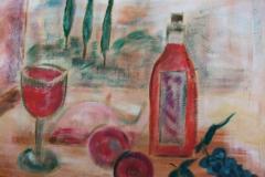 stillleben II, 60x70, acryl auf leinwand, privatbesitz