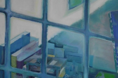 atelierwelt, 100x80, acryl auf leinwand